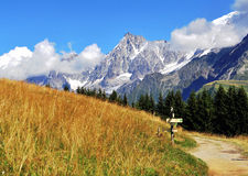 Alpi francesi Immagine Stock Libera da Diritti
