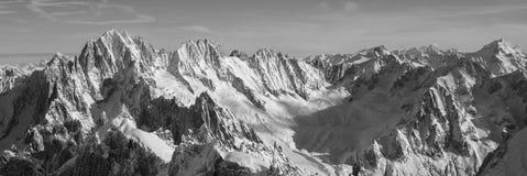 Alpi francesi Immagine Stock