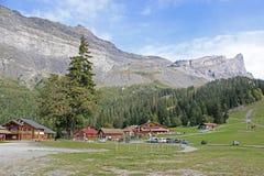 Alpi francesi Fotografia Stock Libera da Diritti
