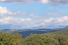 Alpi francesi del sud Fotografia Stock