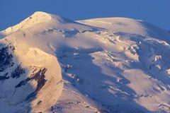 Alpi francesi di mattina Immagine Stock