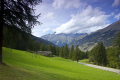 Alpi francesi, Europa Fotografia Stock Libera da Diritti