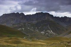 Alpi francesi, Europa Immagine Stock