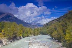 Alpi francesi, Europa Immagini Stock