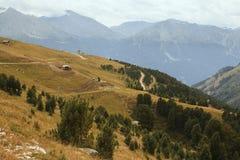 Alpi francesi, montagne di Vanoise Immagine Stock