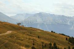 Alpi francesi, montagne di Vanoise Fotografie Stock