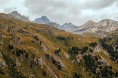 Alpi francesi, montagne di Vanoise Fotografia Stock Libera da Diritti