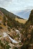 Alpi francesi, montagne di Vanoise Immagini Stock Libere da Diritti