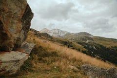 Alpi francesi, montagne di Vanoise Immagini Stock