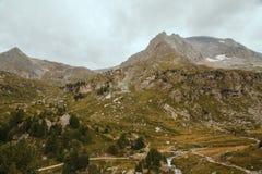Alpi francesi, montagne di Vanoise Immagine Stock Libera da Diritti