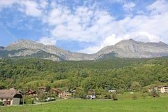 Alpi francesi a Passy Fotografia Stock