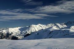 Alpi francesi V Fotografia Stock Libera da Diritti