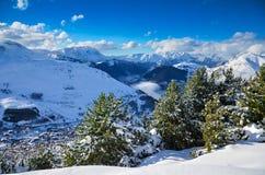 Alpi in Francia Fotografia Stock Libera da Diritti