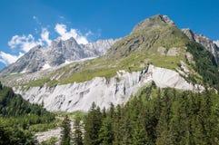 Alpi, Francia (da Ferret) Fotografia Stock Libera da Diritti