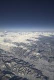 alpi góry rozciągają się s Obraz Royalty Free