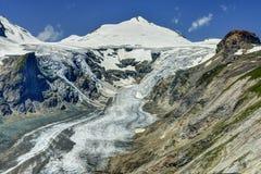 Alpi, ghiacciaio di Grossglockner Immagine Stock Libera da Diritti