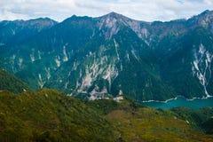 Alpi giapponesi Immagini Stock