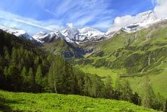 Alpi - Grossclockner Fotografia Stock