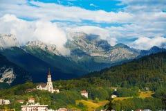Alpi H della chiesa di Visitation di Annecy Basicila Immagini Stock
