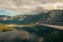 Alpi Hallstatt Fotografie Stock Libere da Diritti