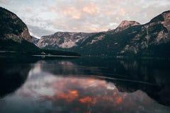 Alpi Hallstatt Fotografia Stock