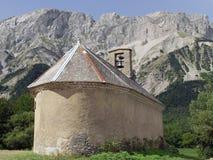 Alpi haute alpes le champsaur della Francia Immagine Stock Libera da Diritti