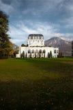 Alpi imperiali di Annecy Francia del palazzo dell'hotel Immagini Stock