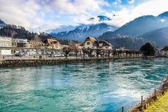 Alpi - Interlaken - Svizzera Immagini Stock Libere da Diritti
