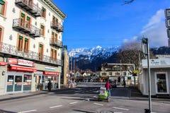 Alpi - Interlaken - Svizzera Fotografia Stock Libera da Diritti