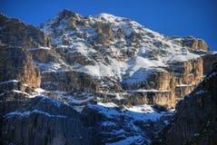 Alpi inverno, dolomia, Italia, 2007 Fotografie Stock Libere da Diritti