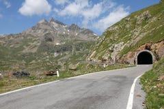 Alpi in Italia Fotografia Stock