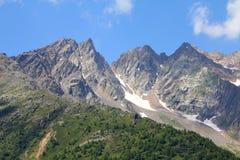 Alpi in Italia Fotografie Stock