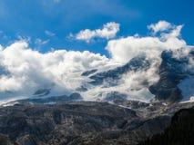 Alpi Italia della dolomia Fotografie Stock