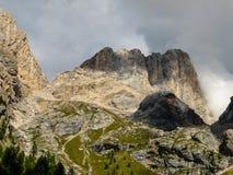 Alpi Italia della dolomia Immagini Stock