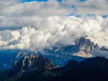 Alpi Italia della dolomia Immagine Stock