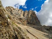 Alpi Italia della dolomia Fotografia Stock