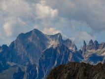 Alpi Italia della dolomia Immagini Stock Libere da Diritti