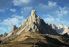 Alpi Italia delle dolomia Immagine Stock