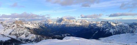 Alpi Italia di Dolomiti Fotografia Stock