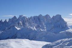 Alpi Italia di Dolomti Fotografie Stock Libere da Diritti