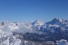 Alpi Italia di Dolomti Fotografie Stock