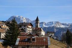 Alpi Italia di Dolomti Fotografia Stock Libera da Diritti
