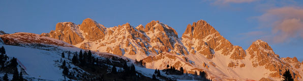 Alpi Italia di Dolomti Immagine Stock