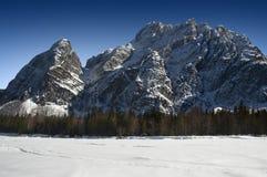 Alpi in Italia - Tarvisio - Val Saisera Fotografia Stock