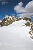 Alpi italiane Fotografia Stock