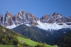 Alpi italiane. Fotografia Stock Libera da Diritti