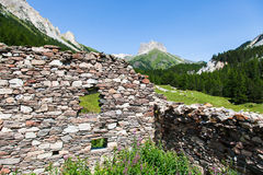 Alpi italiane Immagine Stock
