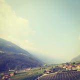 Alpi italiane Fotografie Stock