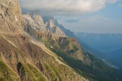 Alpi italiane Fotografia Stock Libera da Diritti