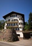 Alpi italiane - casa tipica Fotografia Stock